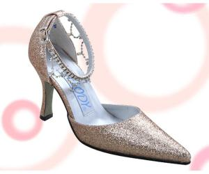 Satin High Heel Closed-toes Special Occasion Shoes
