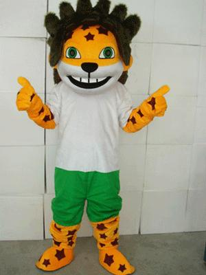 Obama Lions Plush Adult Mascot Costume