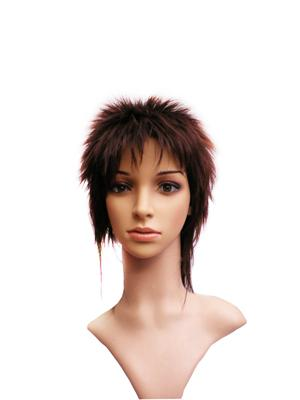 Unisex Short Curly Fashion Wig